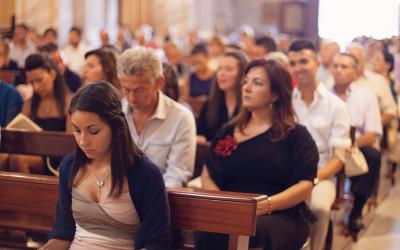 parenti in chiesa